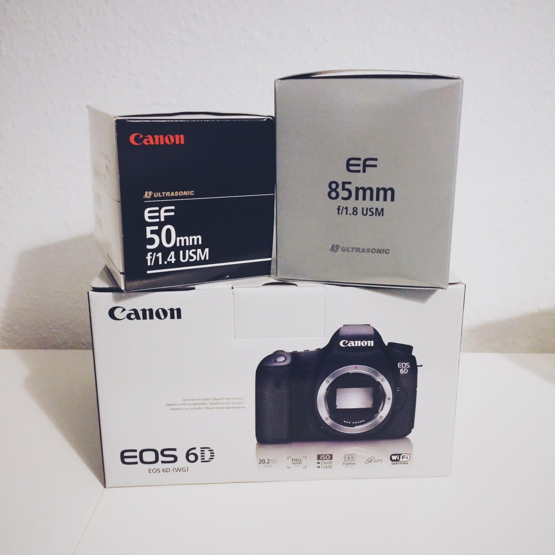 Meine Fotoausrüstung - Was gehört in meine Kameratasche?
