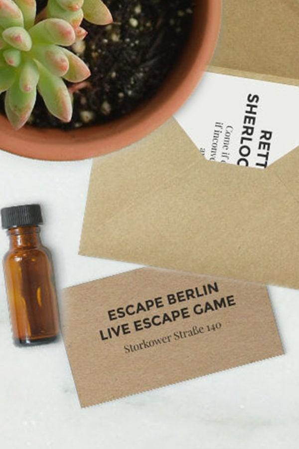 Rette Sherlock Holmes beim Live Escape Game in Berlin!