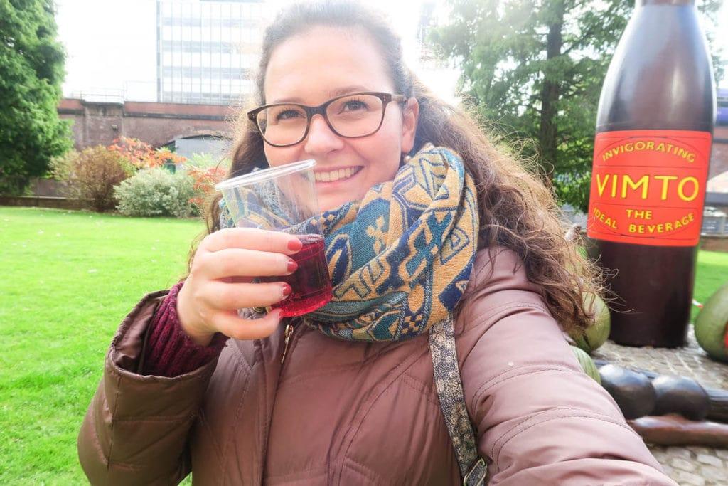 Manchester Travel Guide: Vimto Taste Test @ Free Walking Tour