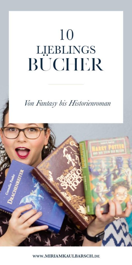 10 Lieblingsbücher - Von Fantasy bis Historienroman