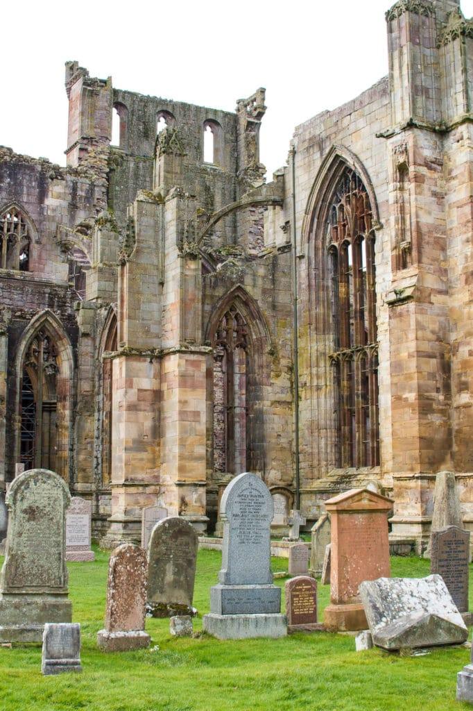 Scotland: Border Abbeys Way Road Trip to the Scottish Borders: Melrose Abbey