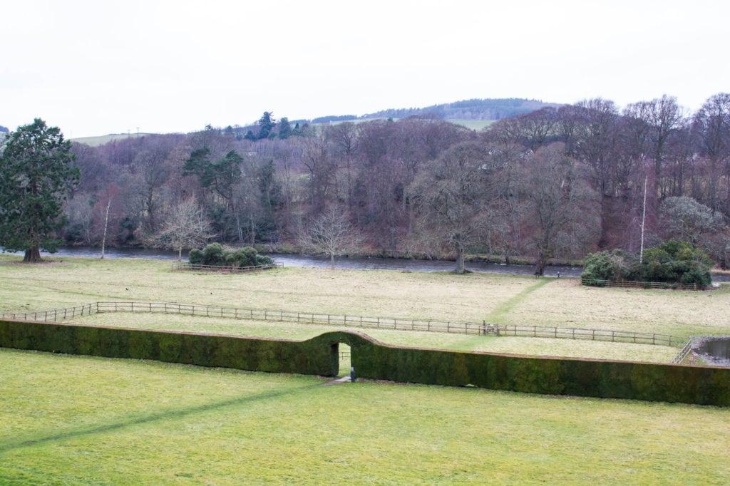 Scotland: Border Abbeys Way Road Trip to the Scottish Borders: Abbotsford