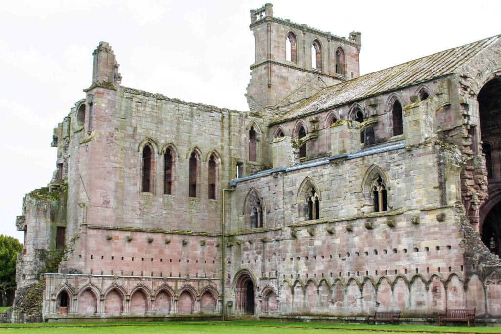 Scotland: Border Abbeys Way Road Trip to the Scottish Borders: Melrose Abbey