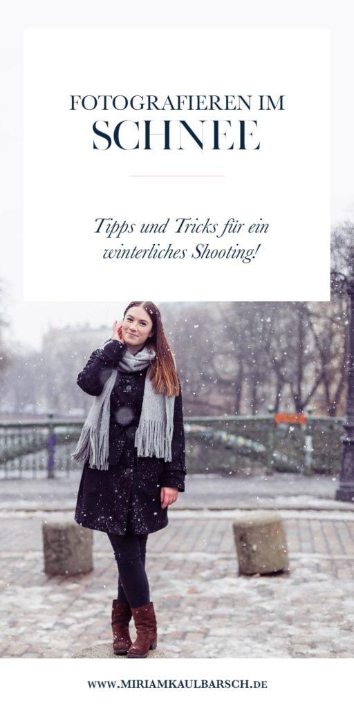 Fotografieren im Schnee - Tipps und Tricks für ein winterliches Shooting