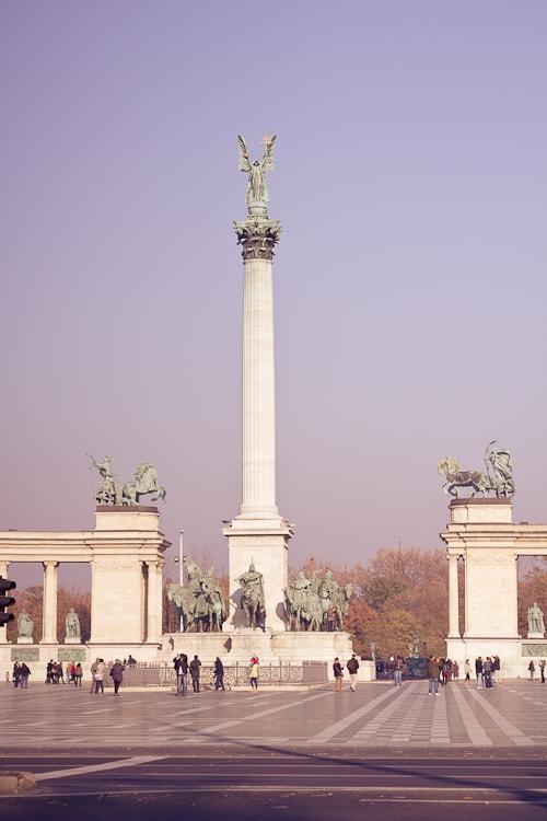 Budapest – Heldenplatz