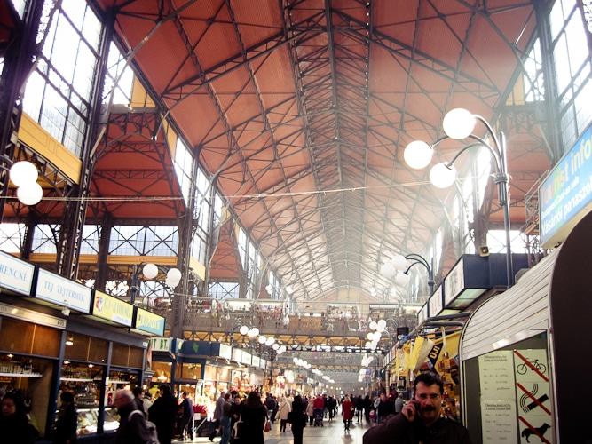 Budapest – Große Markthalle