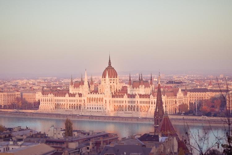 Budapest – Blick auf das Parlament