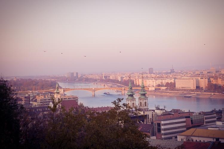 Budapest – Blick auf die Donau