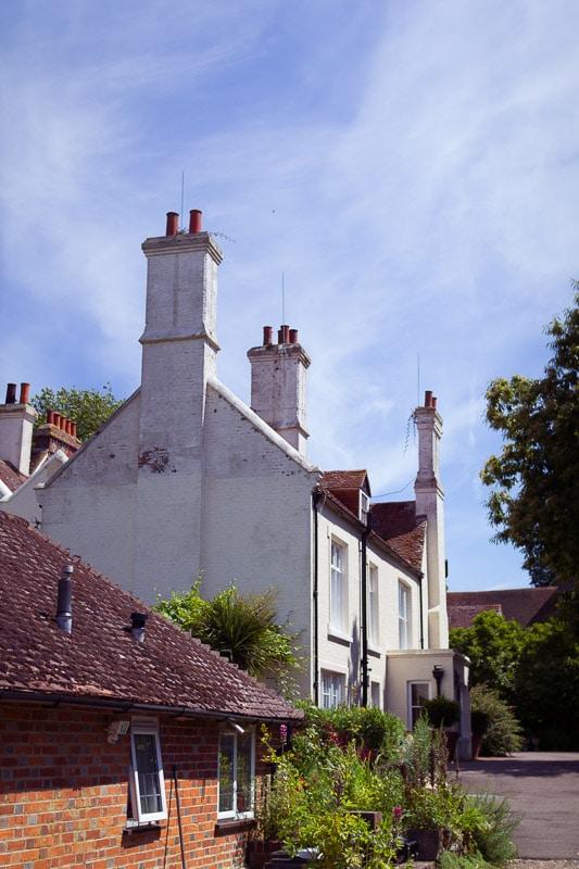 Haupthaus vom Cottage