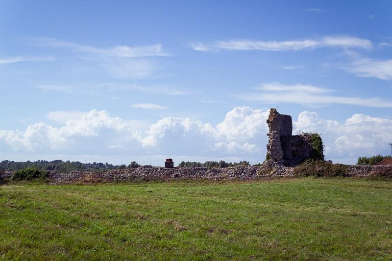 Burgruine in Südengland