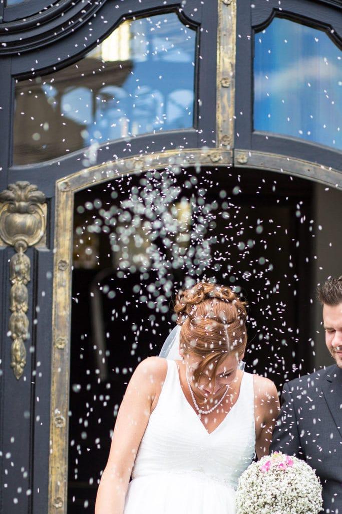Reis werfen bei der Hochzeit: Für mich ein No Go!