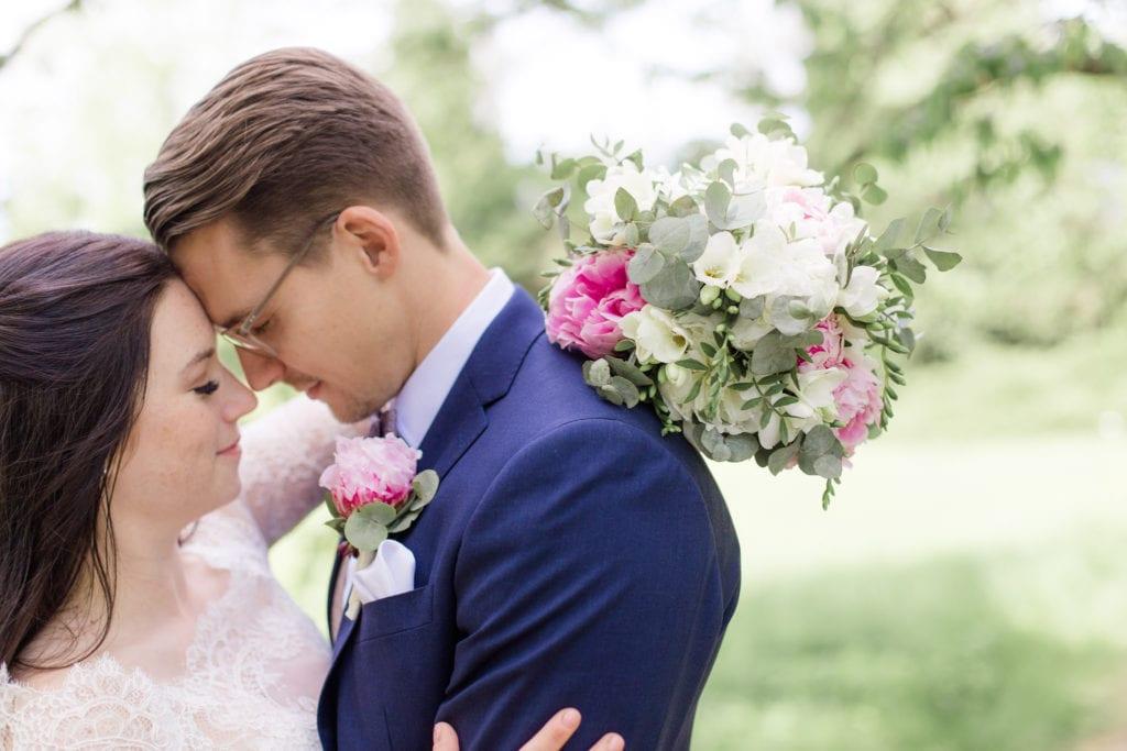 Brautpaarfotos im Park