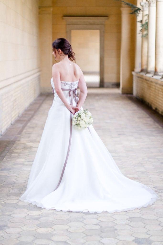 Braut in Potsdam
