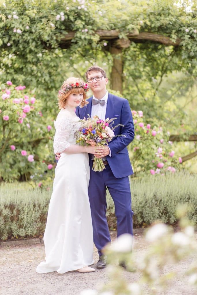 Standesamtliche Hochzeit im Botanischen Garten Berlin