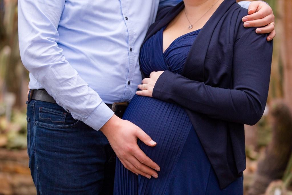 Schwangerschaftsshooting mit Hanni und Matthias in Berlin