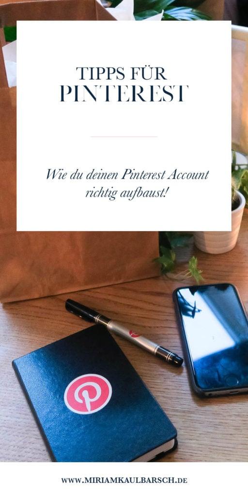 Die Pinterest Tipps von Pinterest! Wie du dein Profil zum Laufen bringst!