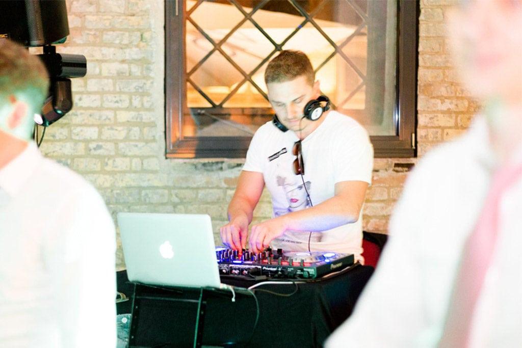 DJ auf Hochzeit