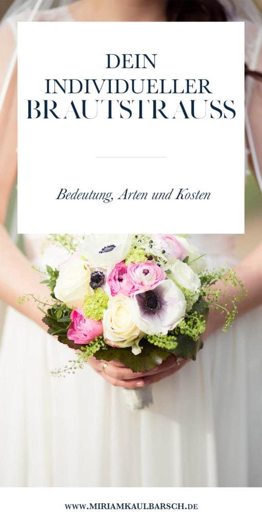 Dein individueller Brautstrauß! Wie viel kostet ein Strauß zur Hochzeit? Welche Arten von Braustrauß gibt es? Und was bedeutet der Strauß eigentlich?