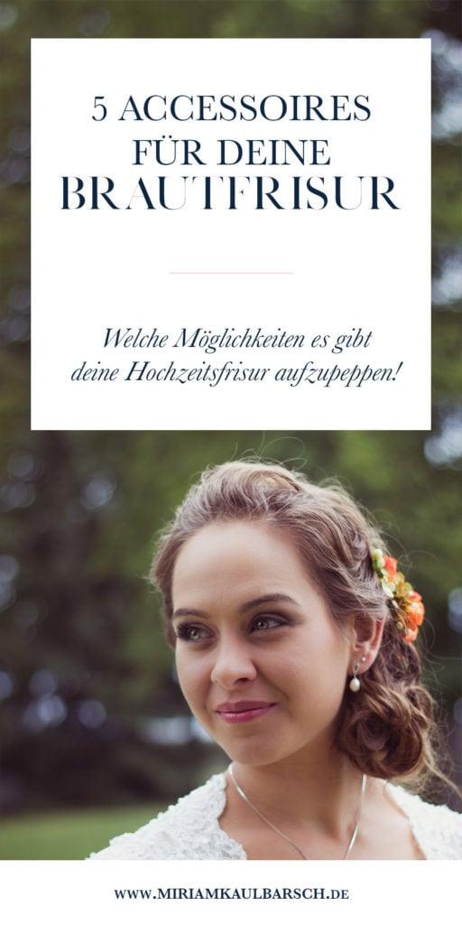 5 Accessoires für deine Brautfrisur!
