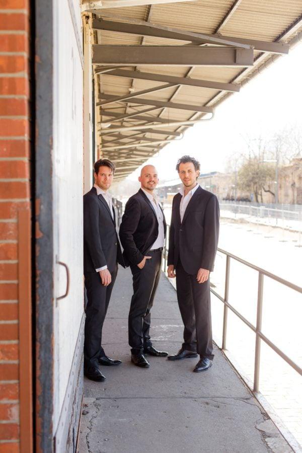Die Drei Baritone - Promo Shooting in Berlin