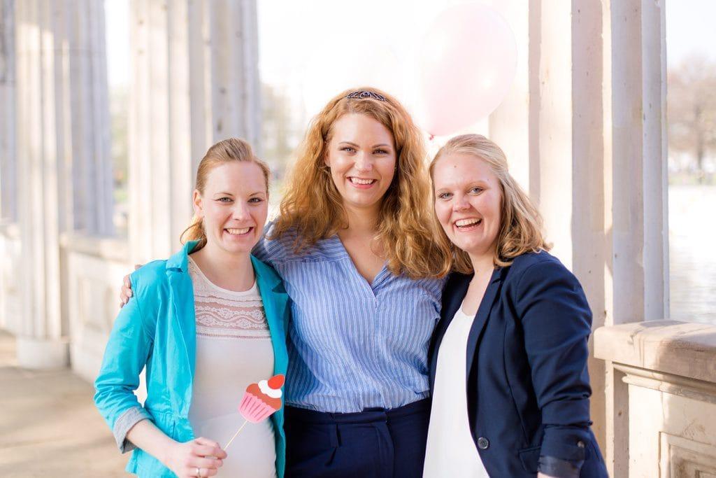 Cynthias Junggesellinnenabschied auf der Museumsinsel in Berlin