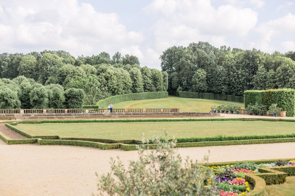 Tanja und Georgs romantische Sommerhochzeit im Barockgarten Grosssedlitz bei Dresden