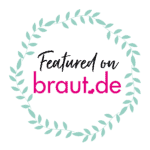 Badge: Featured on braut.de