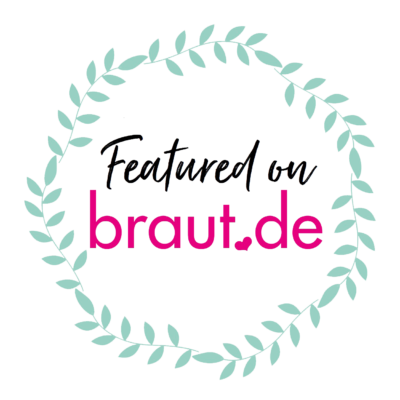 Badge: Featured on braut.de