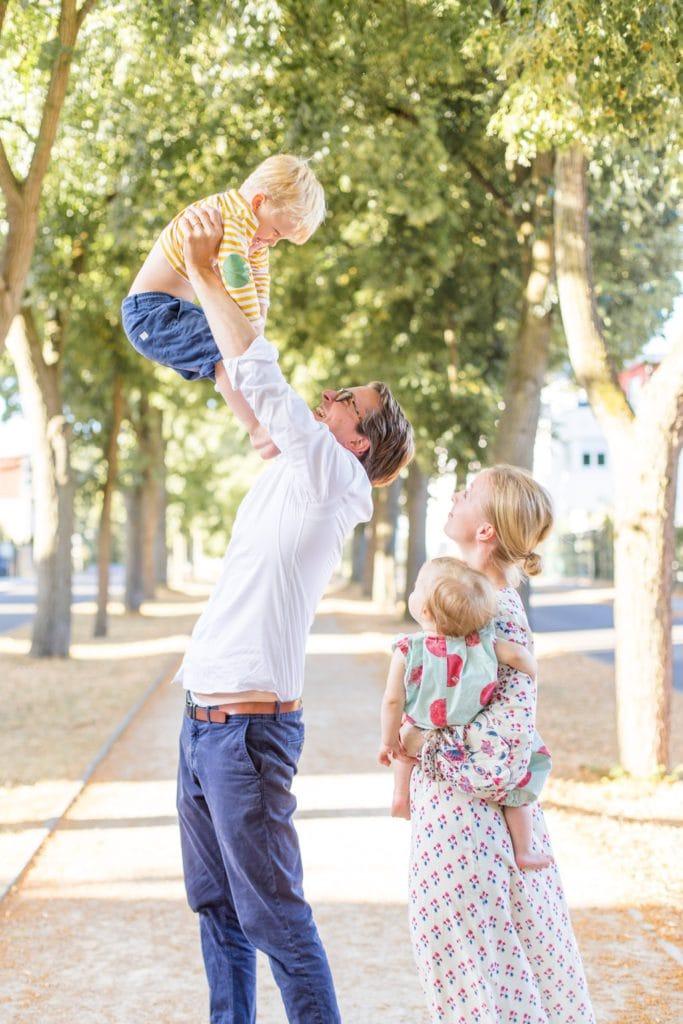 Familienfotos in Berlin Wannsee