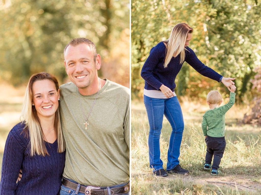Deutsch-Amerikanisches Familienshooting im Herbst