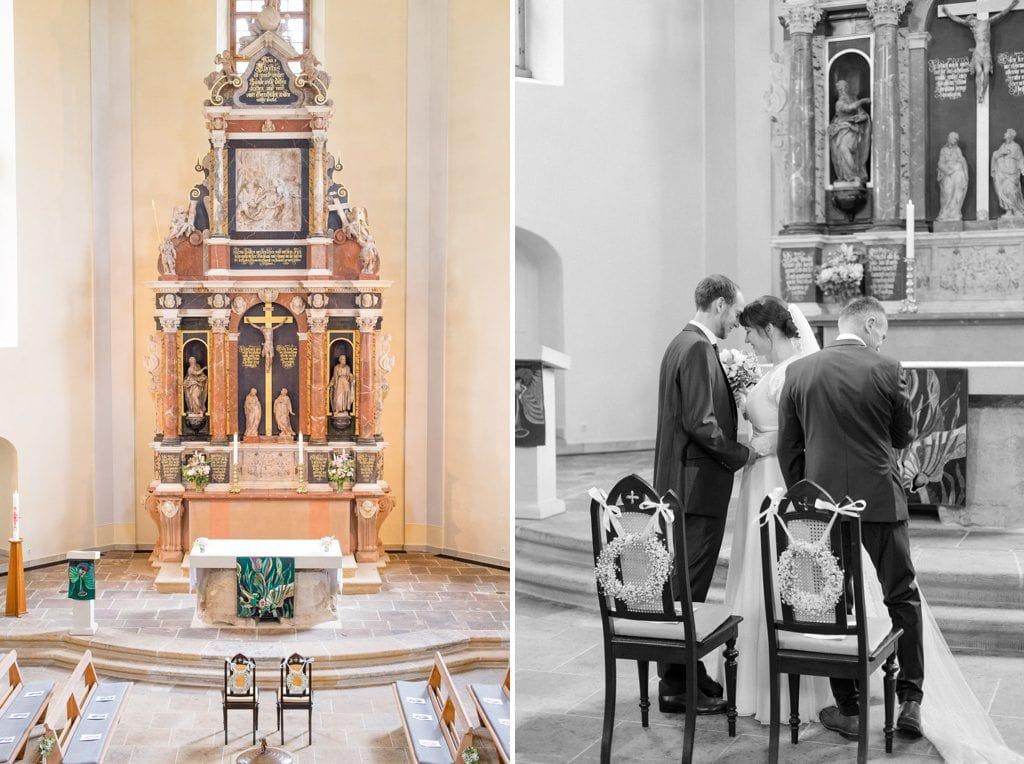 Sitzordnung in der Kirche