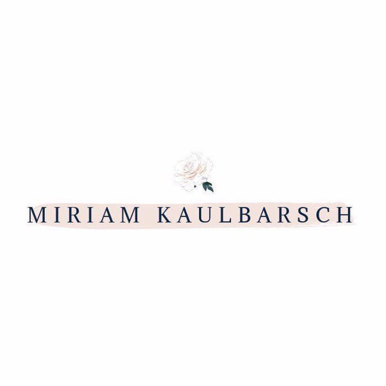 Mein Logo: Miriam Kaulbarsch Fotografie - Hochzeitsfotografin in Berlin und Potsdam