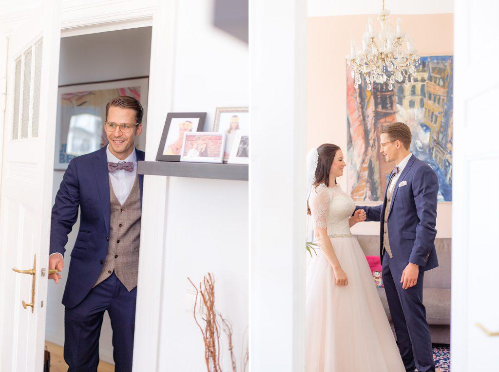 Der schönste Tag - Ablauf am Hochzeitstag First Look