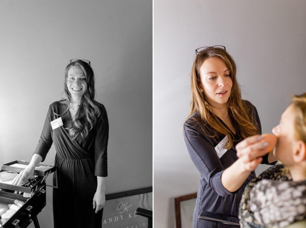 Mandy Klimt ist professionelle Visagistin im Bereich Hochzeiten