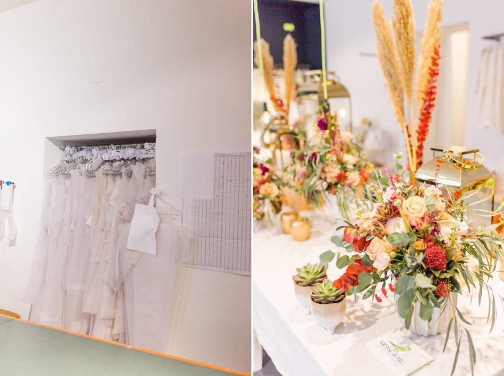 Wundervolle Blumen von Grünschnabel mit Kleidern von Anne Wolf