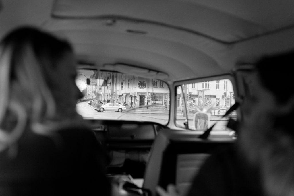Mit dem VW Bully durch Berlin