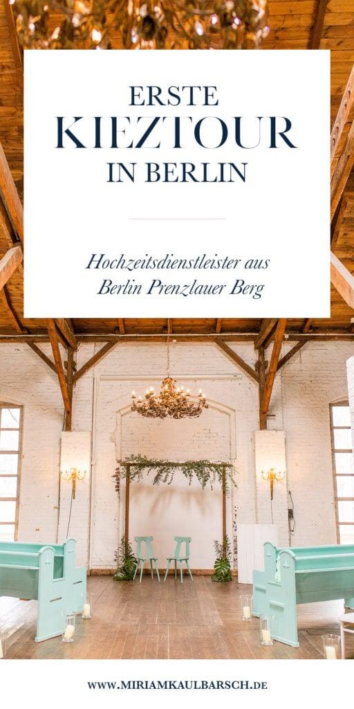 Erste Kieztour von Kiezhochzeit in Berlin Prenzlauer Berg