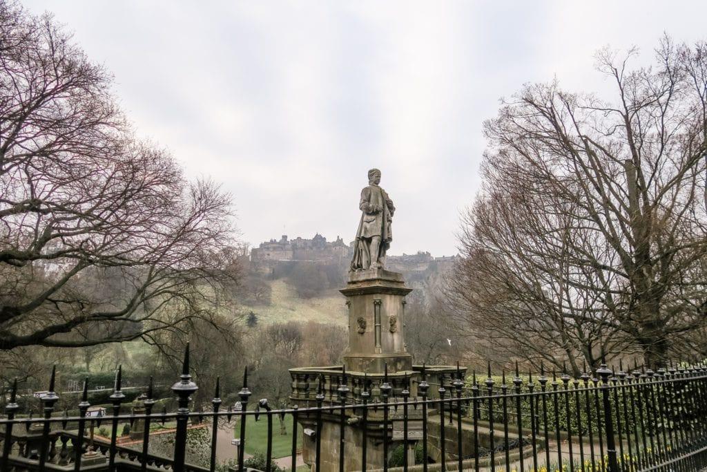 Edinburgh - Garden und Castle