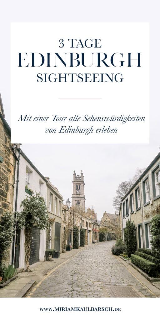 3 Tage Edinburgh Sightseeing - Mit einer Tour alle Sehenswürdigkeiten von Edinburgh anschauen