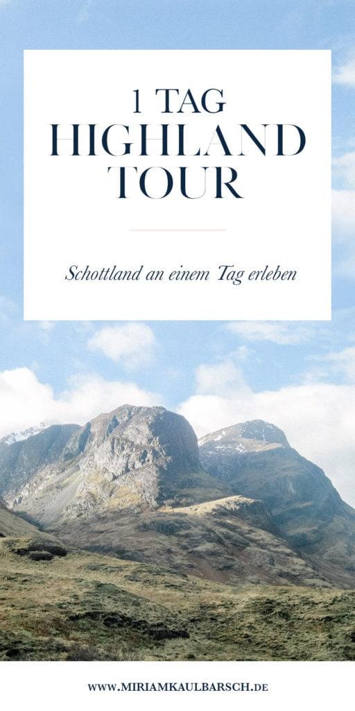 Highland Tour an 1 Tag - Schottland erleben und kennenlernen