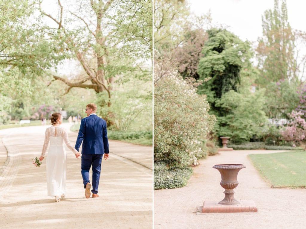Standesamtliche Trauung von Svenja und Felix im Botanischen Garten Berlin