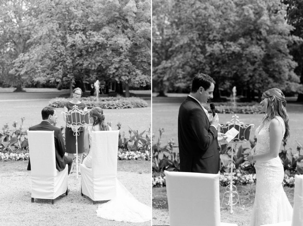 Sommerliche Hochzeit im Ochsenstall vom Schloss und Gutshof Britz Berlin