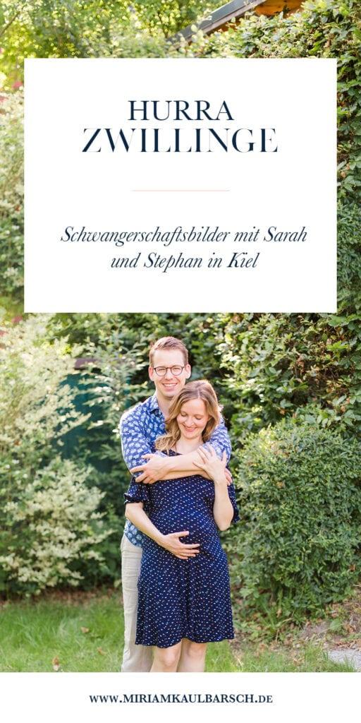 Hurra Zwillinge! Schwangerschaftsfotos von Sarah und Stephan in Kiel