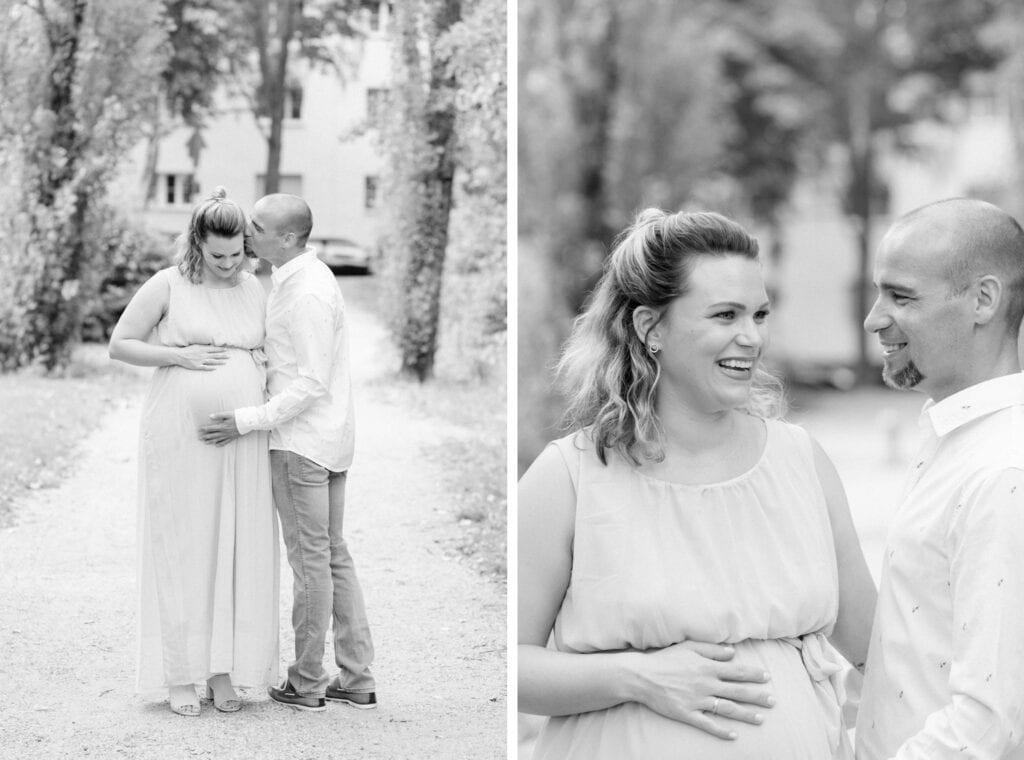 Meine Paare werden Eltern: Schwangerschaftfotos mit Cynthia und Basti in Berlin