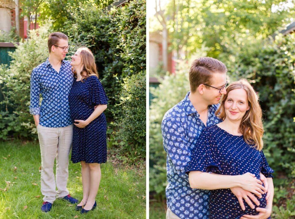 Schwangerschaftsfotos von Sarah und Stephan in Kiel
