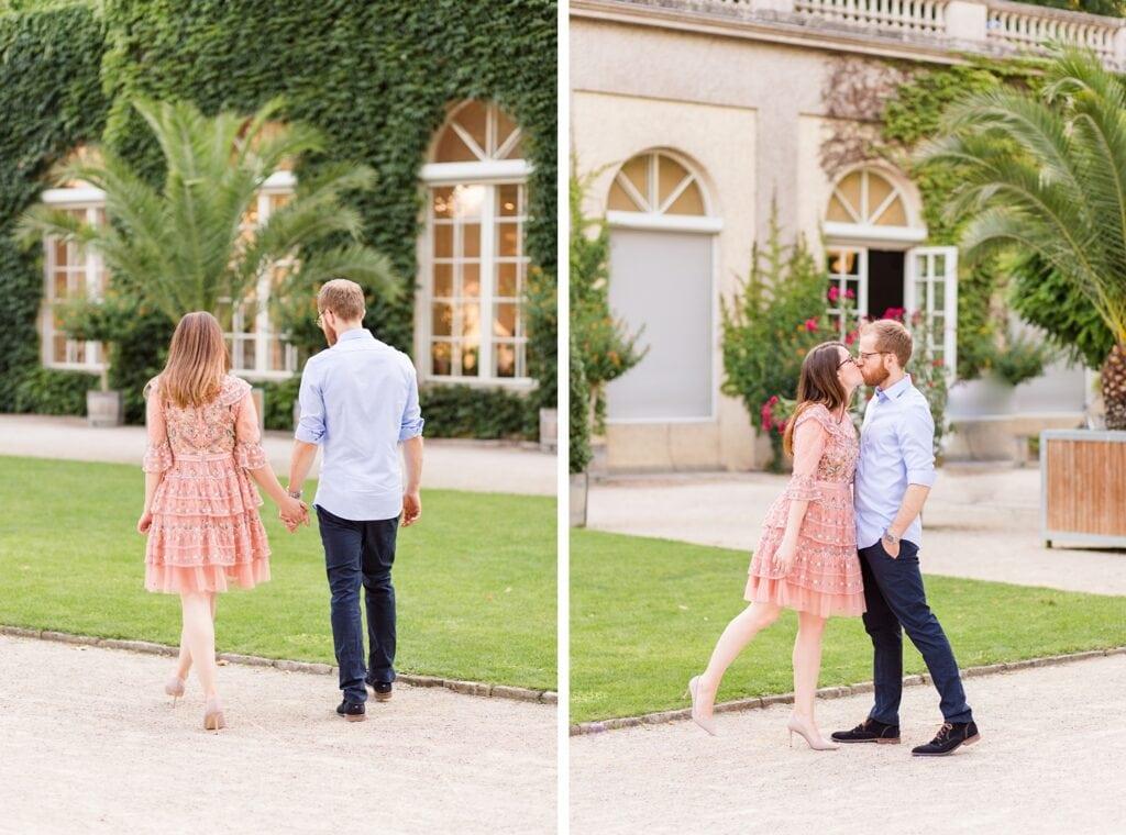 Spätsommerliches Verlobungsshooting mit Samantha und Immanuel im Körnerpark Berlin