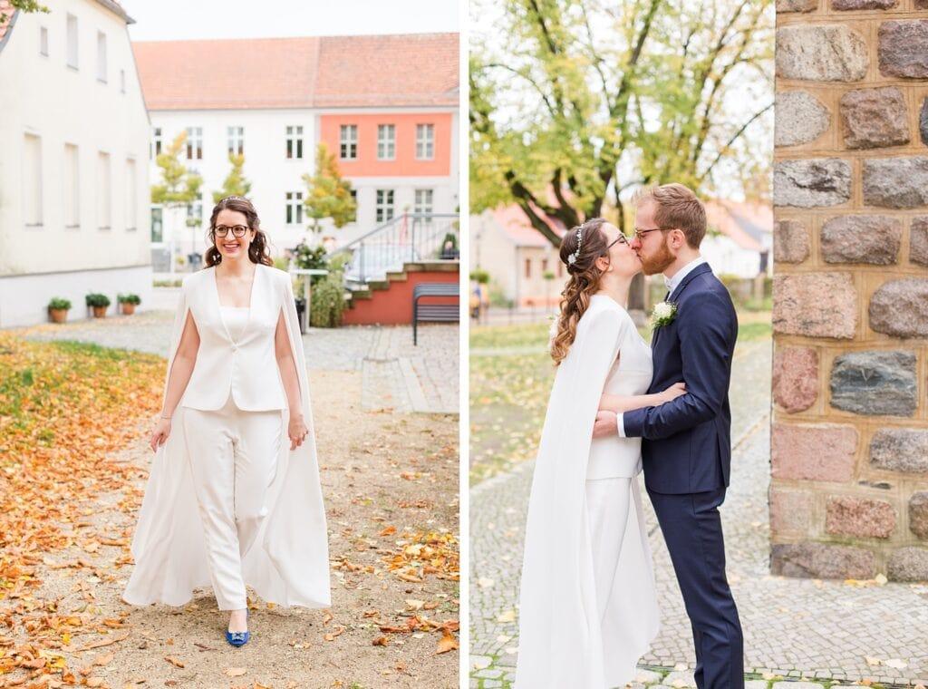 Oktober Hochzeit in Teltow und Berlin Wannseeterrassen - Intime Herbsthochzeit