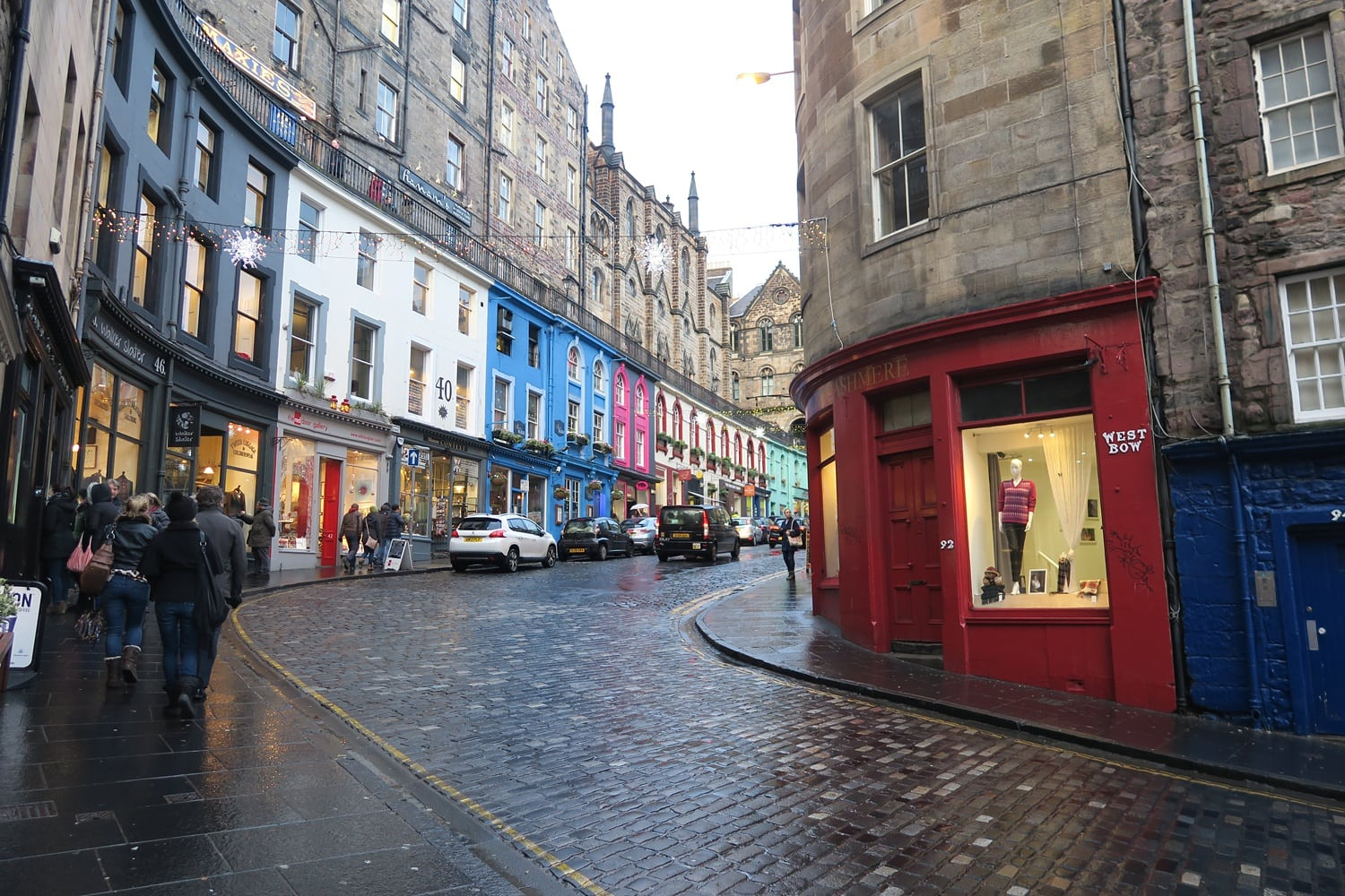 Harry Potter Trail - Wandele auf den Spuren von J.K. Rowling in Edinburgh