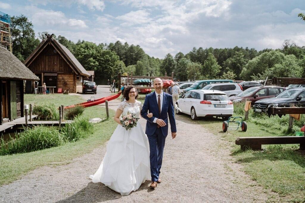 Unser Hochzeitstag im Spreewald © www.hochzeitslicht.de