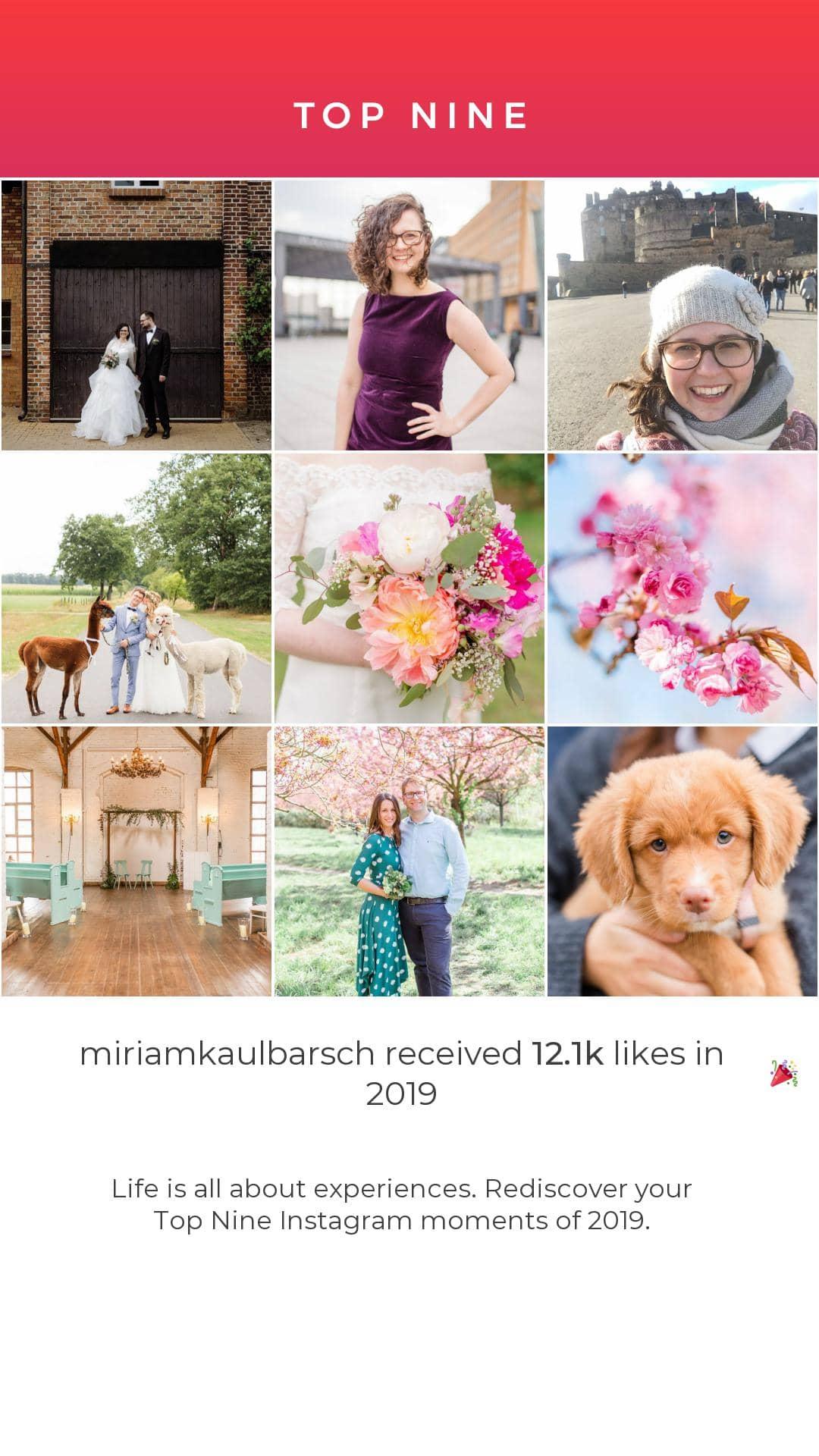 Meine Top Nine - Die von euch gewählten 9 schönsten Bilder 2019 von Miriam Kaulbarsch Fotografie